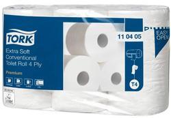 Tork extra jemný 4-vrstvý toaletní papír konvenční role