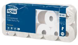 Tork jemný 3-vrstvý toaletní papír konvenční role